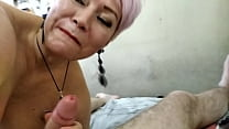 Dildo in ass, dildo in pussy and hot orgasm of ...