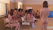 Subtitled uncensored Japanese nudist school clu...