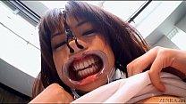 Subtitled weird Japanese face destruction shave...