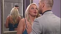 Husband Ramon Nomar caught hot huge tits blonde...