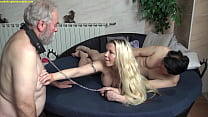 Glamour Princess humiliate her old cuckold man ...