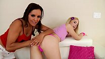 Watch Blonde Chloe Cherry gets her holes fucked preview