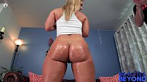 PAWG gets fucked in the butt by Laz Fyre