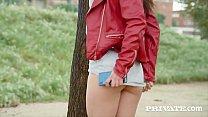 Euro Teen beauty Anastasia Brokelyn opens her p...