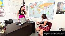 Big Titty Teachers, Angelina Castro & Sara Jay ...