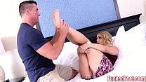 Cute Teen Maria Jade Gets Her Feet Licked and Fucked! Thumbnail