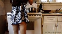 Pinay girl gets fucked in the kitchen by her we...