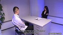 Naughty police inspector interrogates the suspe...