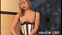 Angelic woman fucks in a non-stop hardcore
