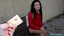 Public Agent Kate Rich fucked outdoors in her p...