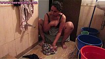 Watch Indian With Big Tits Taking Bath preview