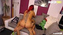 AMATEUR EURO -Hot BBW Young Wife Lea Luestern H...