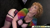 Busty Cougar Decides To Have Interracial Fun In...