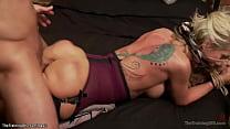 Big tits blonde MILF trainee Simone Sonay in li...
