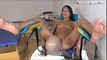 Tiny breasts brunette teen babe gets her tight ...