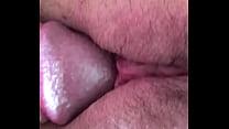Teen Wet labia morning closeup