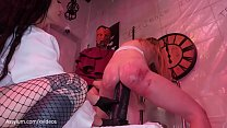 Blond PAWG gets her rectum destroyed in a sadis...