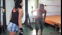 Mikaela Teaches Barack a Lesson - Real Beatdown...