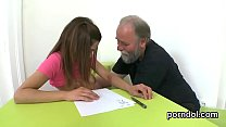Erotic schoolgirl gets tempted and shagged by h...