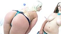 Big butt sluts Bambi Bella & Suzy anal & DP fou...