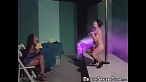 Vintage pussy rattled with toys and oral
