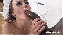 Hardcore interracial double penetration video w...