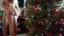 Perfect Body GF Fucks on Christmas