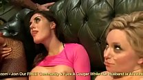 Sarah & Aiden Ride Some Cock Together