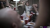 Teen Jaye Summers fucked at party in public whi...