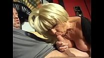 Hot mature slut Ginni Lewis begins with blowjob...