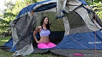 sister Gets in Wrong Tent and Gets Fucked by Bi...