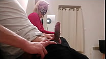 amazing this stranger pulls his dick out in thi...