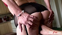 Hot mature lady got fucked really hard by handy