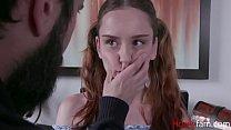 Father Punishes Slutty Daughter