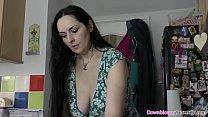 Naughty big natural tits babes enjoying shaking...