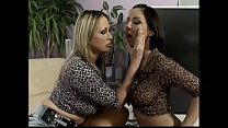 Luxurious blonde lady Mandy Bright makes her br...