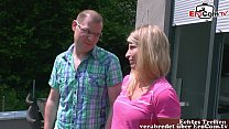 german normal shy couple make her first time porn