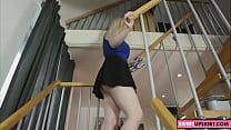 blonde wife upskirt video