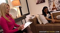 Watch Lesbian MILF India Summer And Petite Ebony Kira Noir Please Each Other preview