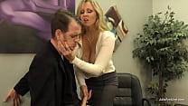 Curvy cock stroking MILF Julia Ann makes sure h...