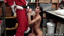 Tiny latina teen shoplifter Katya Rodriguez get...