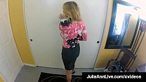 Muff Stuffed Milf, Julia Ann, gets her sweet pu...