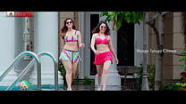 Tamanna and Mehreen Thighs and Legs Show