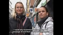 Girls picked up on streets and fucked - Czech S...