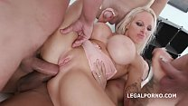 Double Anal Penetration for Fun Loving Sophie A...