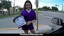 Teens Love Money - (Ada) Fucks In The Car To Ra...