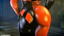Batman SFM Girls The FireBrand Catwoman, Harley...