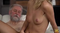 OLD4K. Horny daddy demonstrates blonde colleen ...