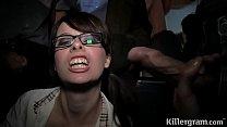 Sex cinema teen slut loves to suck cocks and eat cum Thumbnail
