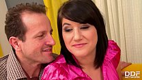 Only blowjob scene with Lucy Bell handling two ...